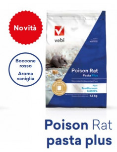 POISON RAT PASTA PLUS 1,5 KG. vendita online