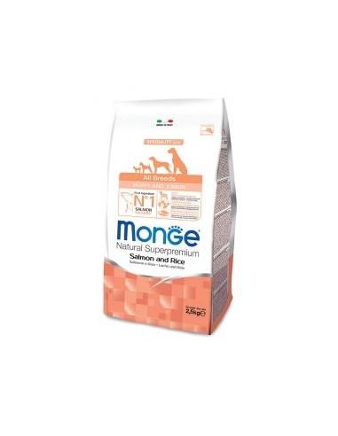MONGE ALL BREE. PUPPY SALM/RISO GR.800 vendita online