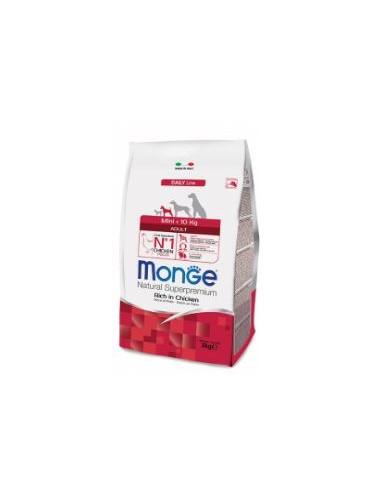 MONGE MINI ADULT POLLO GR.800