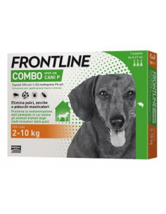 FRONTLINE COMBO KG.2-10 CANI - 3 PIPETTE