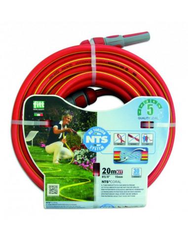 Tubo magliato NTS Red 1/2 20 MT - KIT