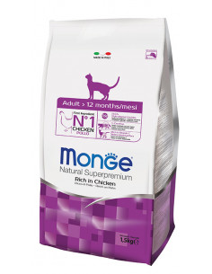 MONGE CAT ADULT SALMONE KG.1,5