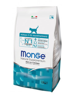 MONGE CAT KITTEN POLLO KG.1,5 vendita online
