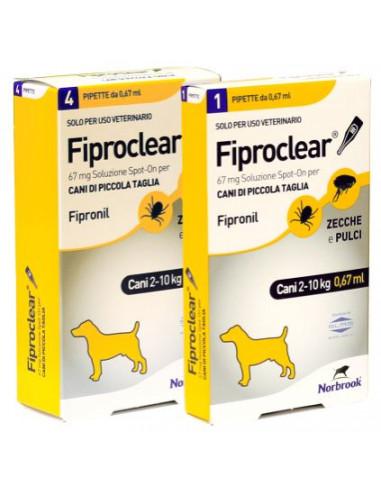 FIPROCLEAR COMBO CANI 2/10 KG. miglior prezzo