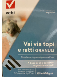 VAI VIA TOPI E RATTI GRANULI GR.50 vendita online