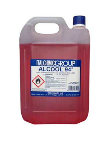ALCOOL DENATURATO 94% CERTIFICATO LT.5 vendita online