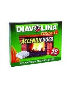 DIAVOLINA ACCENDIFUOCO 40 CUBETTI miglior prezzo