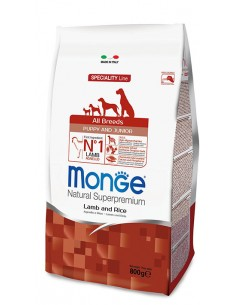 MONGE ALL BREED PUPPY MONOPR. MANZO/RISO KG.2,5 Miglior Prezzo