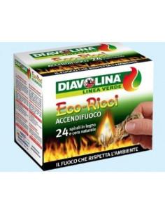 DIAVOLINA ACCENDIF. RICCI 24 SPIRALI vendita online