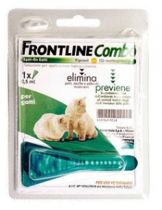 FRONTLINE COMBO KIT PER GATTINI CF. 1 SPOT ON