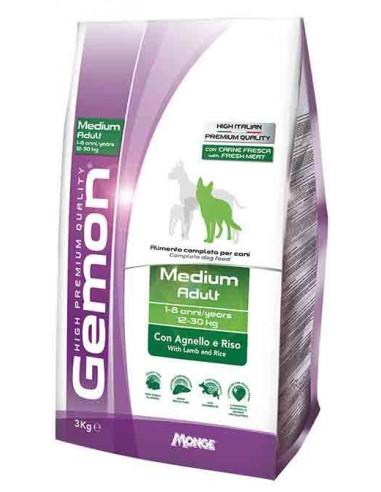 GEMON MEDIUM ADULT AGN/RISO KG.15 miglior prezzo