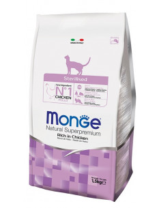 MONGE CAT STERILIZED POLLO KG.1,5 vendita online