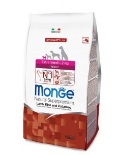 MONGE EX. SMALL ADULT AGN/RISO/PAT KG.2,5