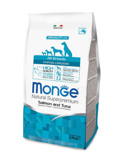 MONGE HYPOALLERG. SALM/TONNO KG.12