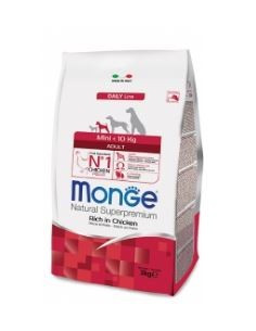MONGE MINI ADULT POLLO KG.3 vendita online