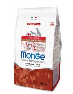 MONGE MINI PUPPY AGN/RISO KG. 2,5